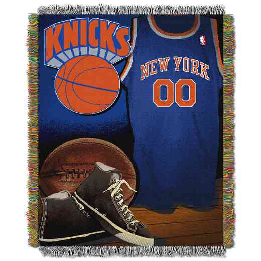1NBA051020018RET: NBA JACQUARD VINTAGE THROW, Knicks